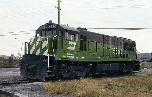 Vehicle - Rail - Locomotive - Diesel - GE U28C