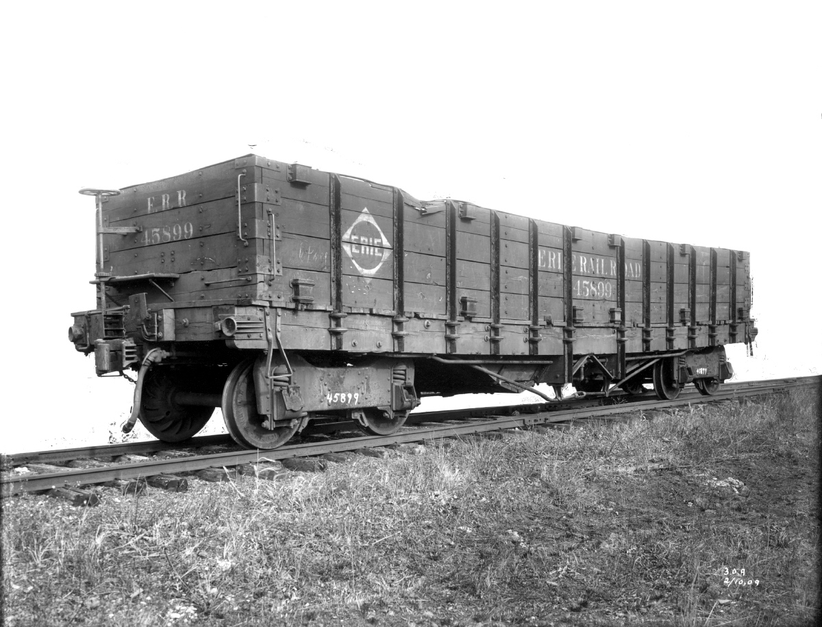 Rail - Rolling Stock (Freight) - Gondola - Early Wooden