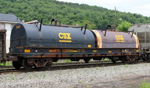 Rail - Rolling Stock (Freight) - Gondola - Evans  48 Foot Coil Steel, 100-Ton