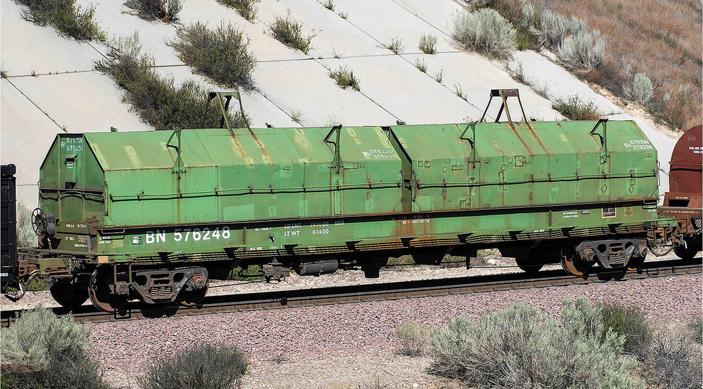 Rail - Rolling Stock (Freight) - Gondola - Evans 48 Foot Coil Steel