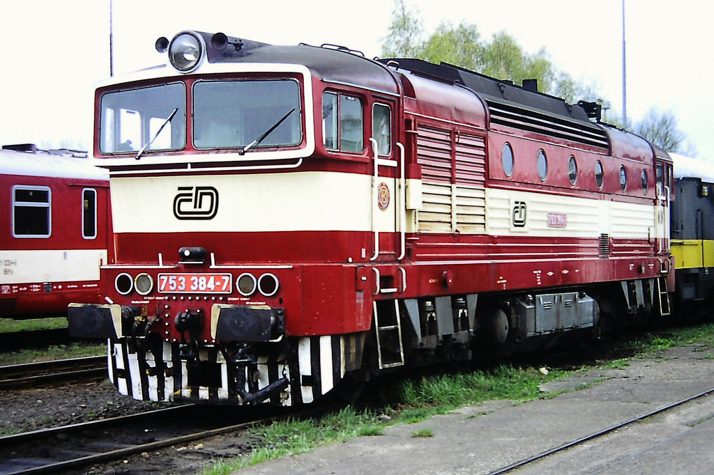 Vehicle - Rail - Locomotive - Diesel - ČSD Class 750, 753, 754