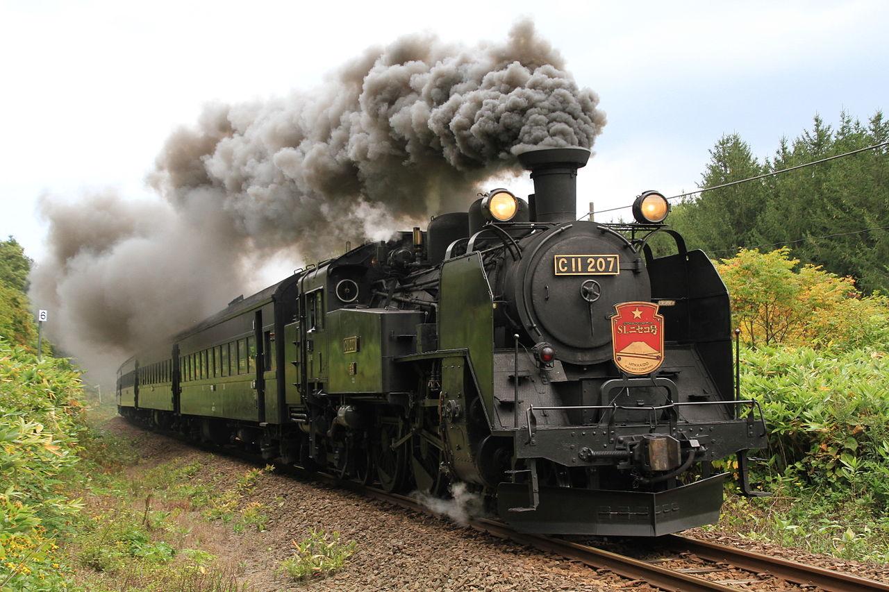 Vehicle - Rail - Locomotive - Steam - 2-6-4 C11