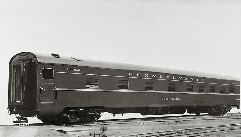 Rail - Passenger Car - Streamlined/Lightweight - Pullman Smoothside Sleeper 10-6