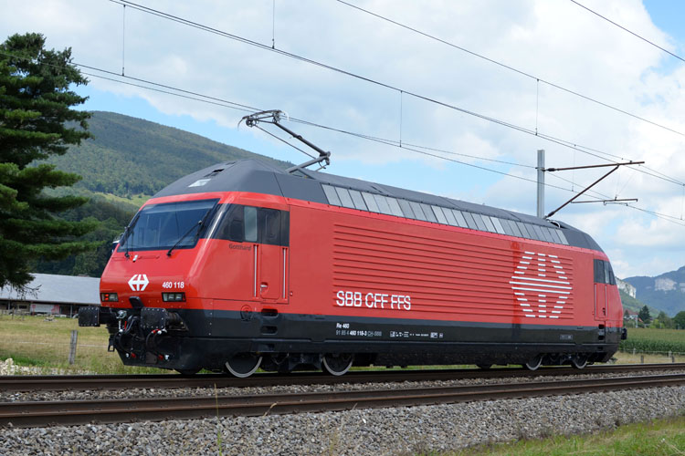 Rail - Locomotive - Electric - Re 460