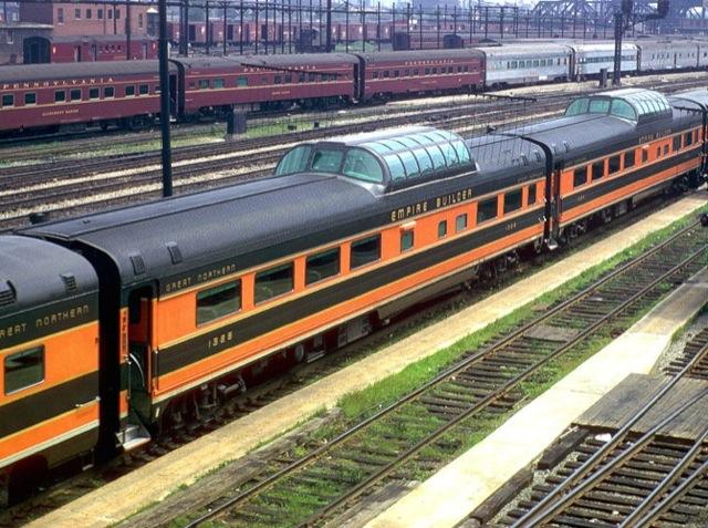 Vehicle - Rail - Passenger Car - Streamlined/Lightweight - Smoothside Vista Dome