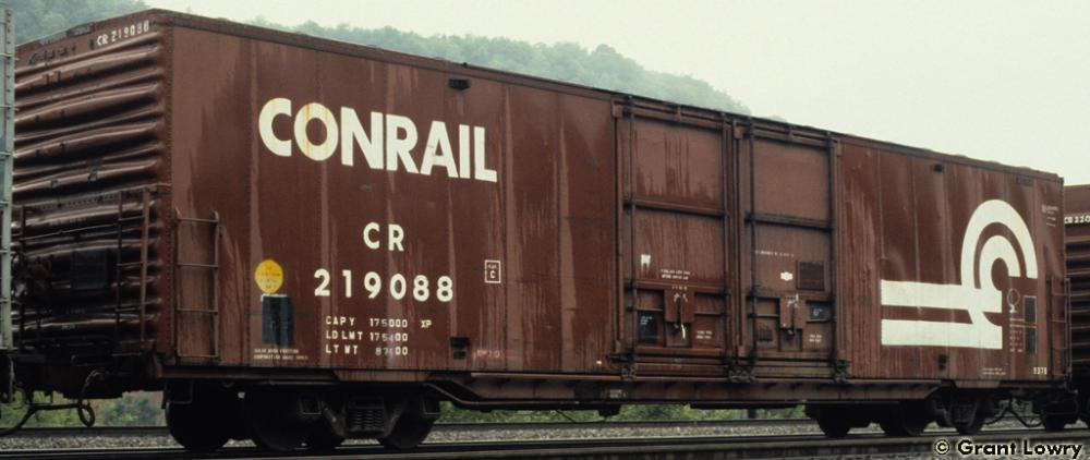 Vehicle - Rail - Rolling Stock (Freight) - Boxcar - 60 Foot Greenville Auto Parts
