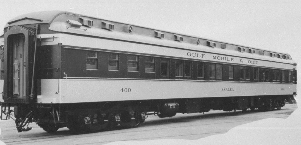 Vehicle - Rail - Passenger Car - Heavyweight - Pullman Diner