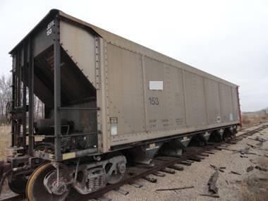 Vehicle - Rail - Rolling Stock (Freight) - Open Hopper - 5-Bay Autoflood II