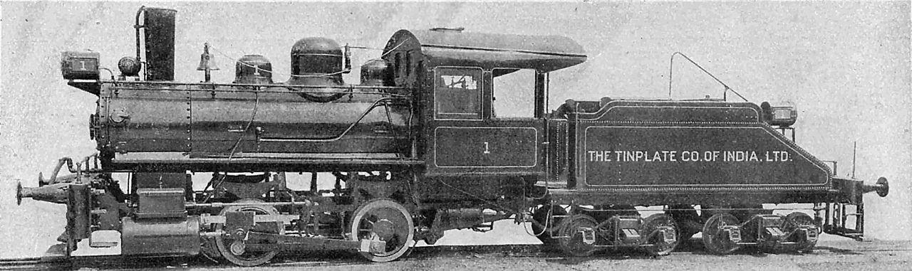 Rail - Locomotive - Steam - 0-4-0 Tender