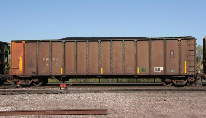 Rail - Rolling Stock (Freight) - Gondola - Bathtub, PS 4000 Coal