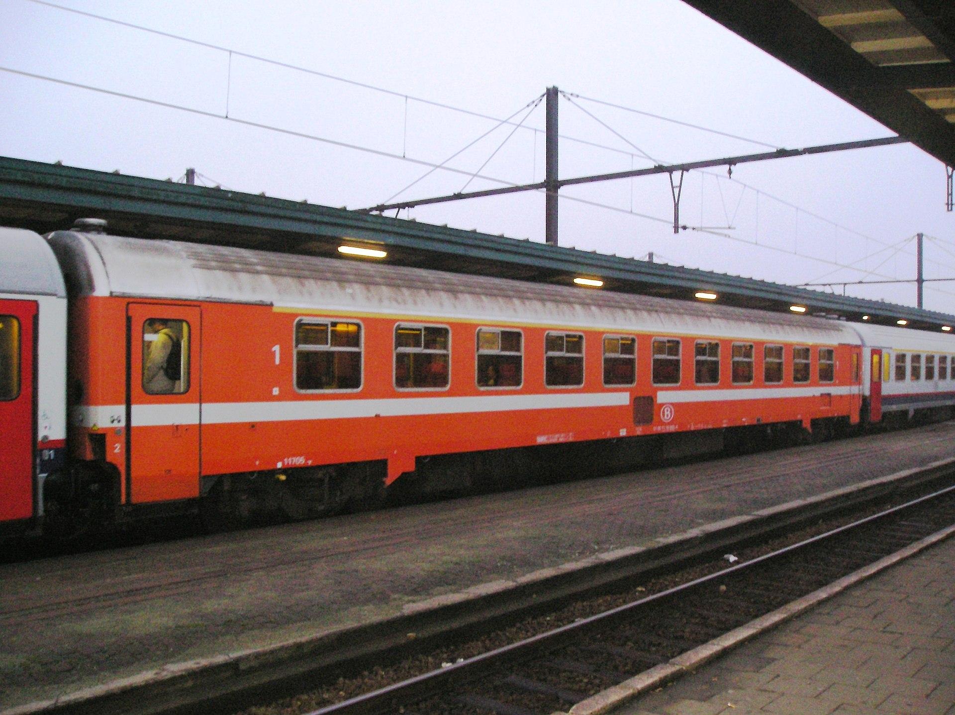 Vehicle - Rail - Passenger Car - UIC - Type Z (Eurofima)