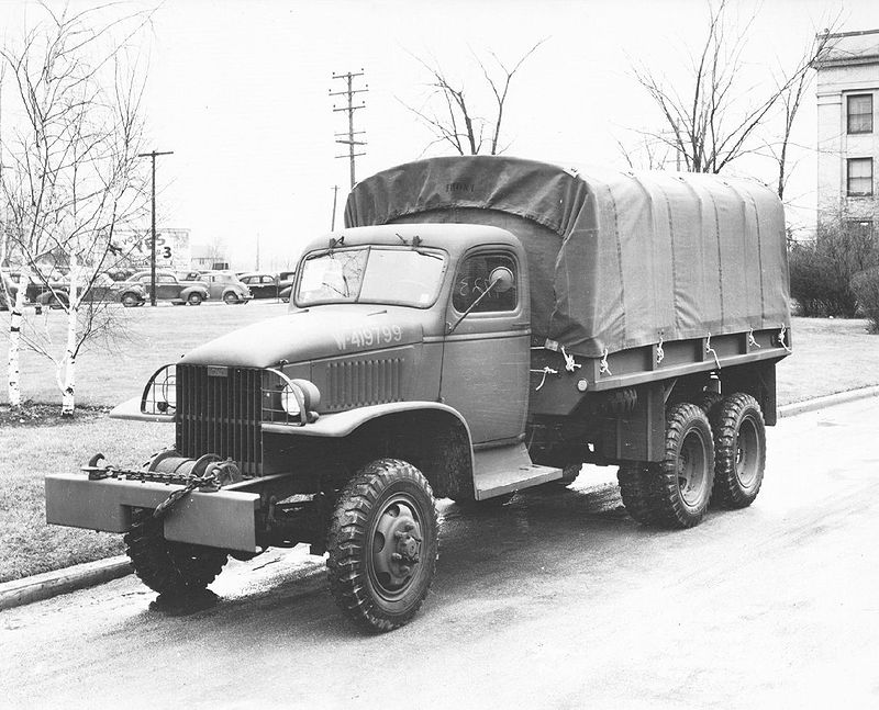 Vehicle - Vehicle - Truck - Cargo - GMC CCKW Deuce-and-a-half