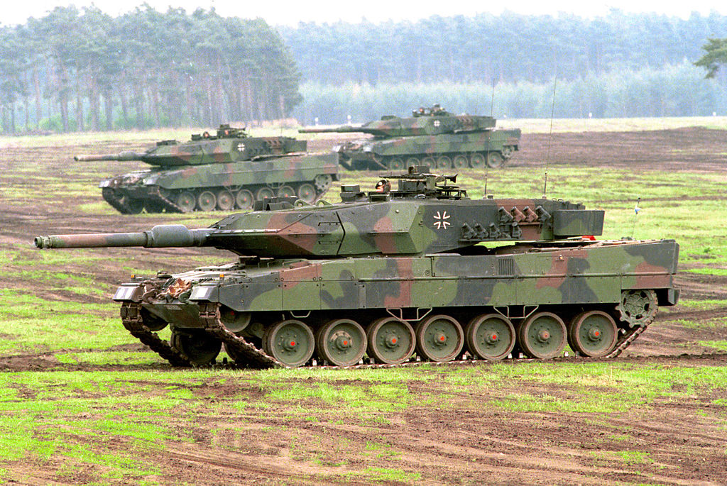 Vehicle - Armored Vehicle - Tank - Leopard 2