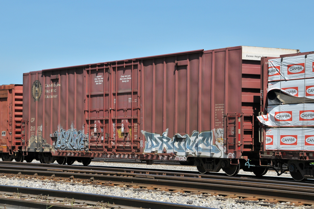Vehicle - Rail - Rolling Stock (Freight) - Boxcar - 60 Foot NSC Excess Height