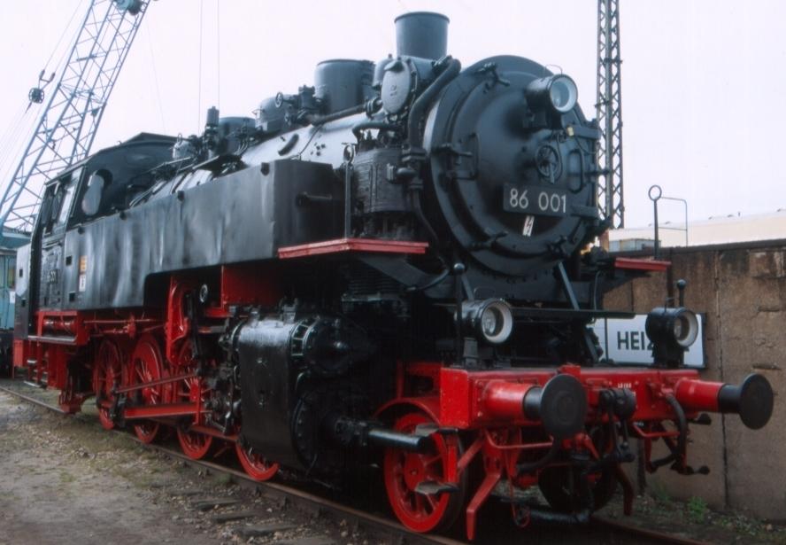 Rail - Locomotive - Steam - 2-8-2, BR 86