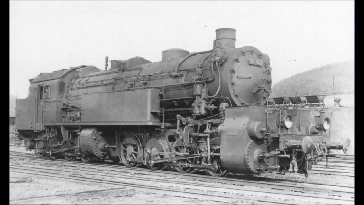 Rail - Locomotive - Steam - 0-8-8-0, BR 96