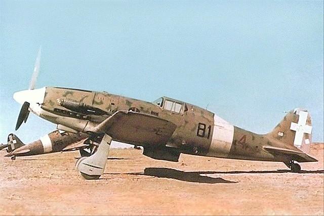Aircraft - Propeller - Macchi - C.202 Folgore