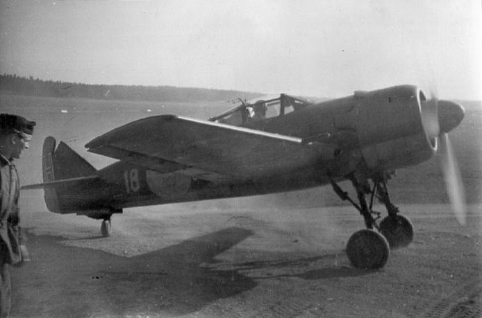 Aircraft - Propeller - FFVS - J 22