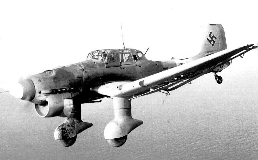 Aircraft - Propeller - Junkers - Ju-87