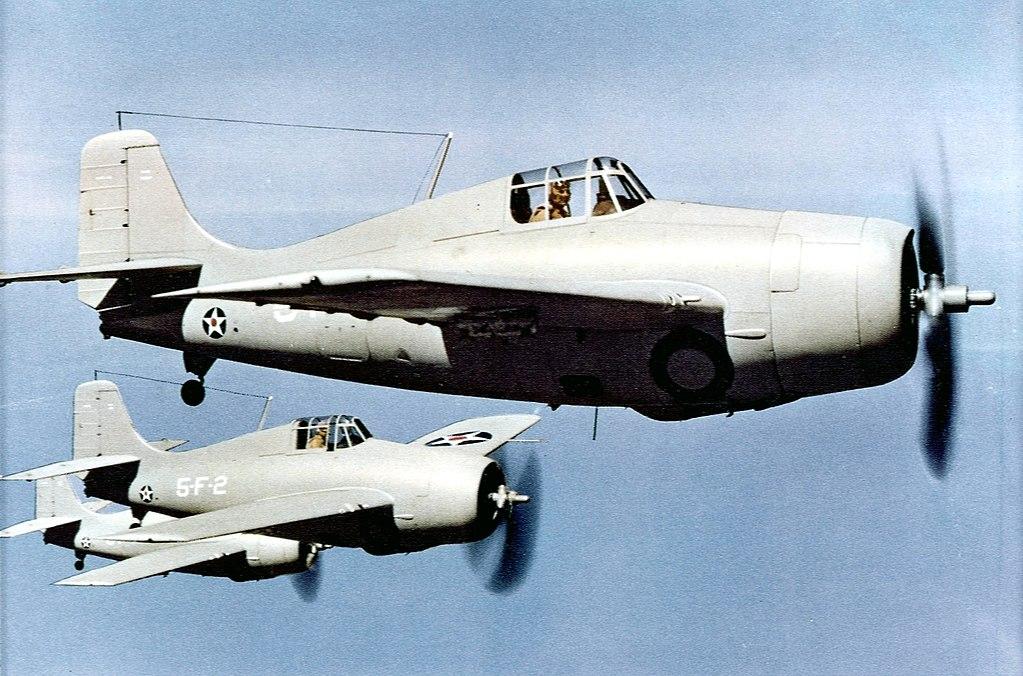 Aircraft - Propeller - Grumman - F4F Wildcat