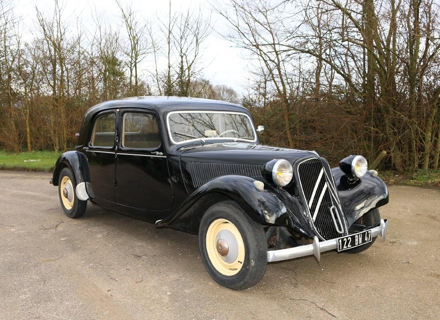 Vehicle - Vehicle - Automobile - Citroën - Traction Avant