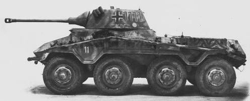 Vehicle - Vehicle - Armored Vehicle - Armored Car - SdKfz 234
