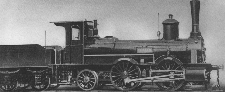 Vehicle - Rail - Freight Train - Steam - Epoch I
