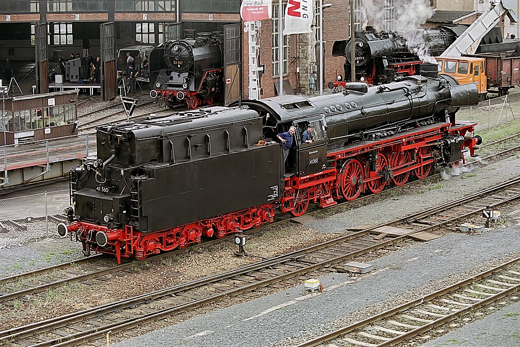 Rail - Locomotive - Steam - 2-8-2, BR 41