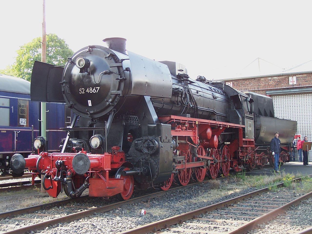 Rail - Locomotive - Steam - 2-10-0 DRB 52