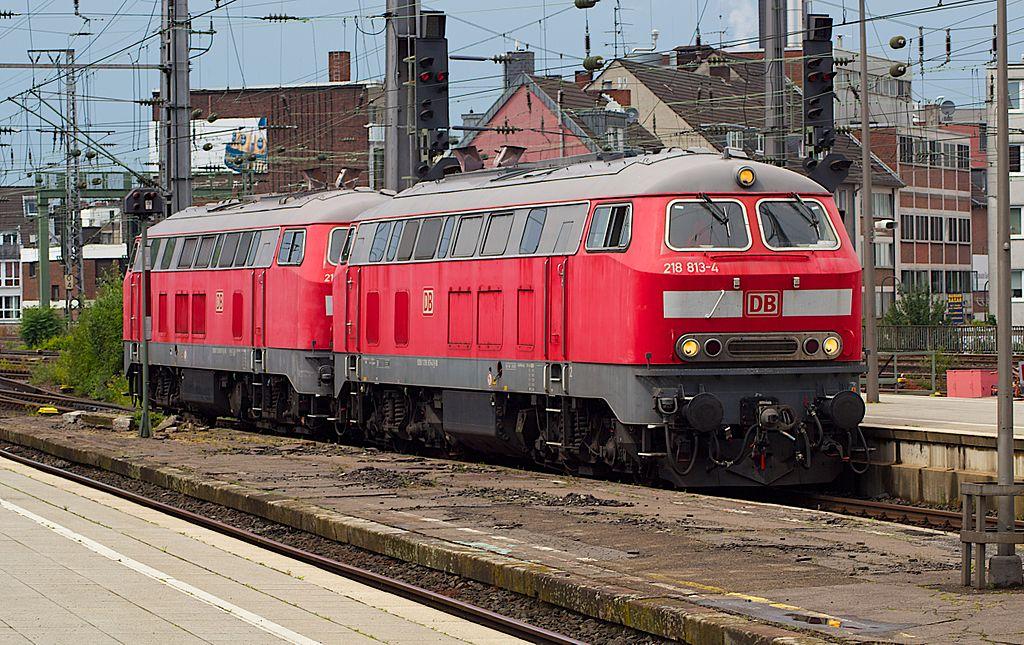 Rail - Locomotive - Diesel - DB 218