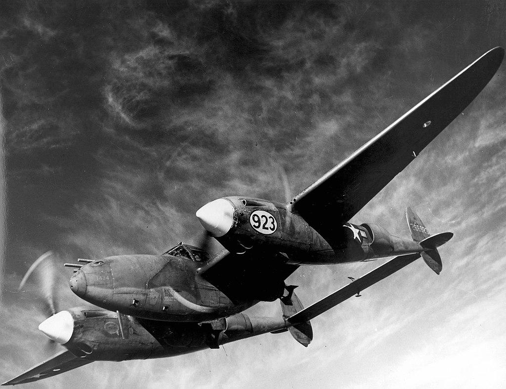 Aircraft - Propeller - Lockheed - P-38 Lightning