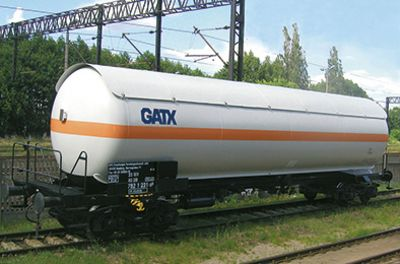 Vehicle - Rail - Rolling Stock (Freight) - Tank Car - Zags Pressurized