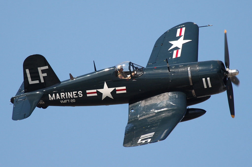 Vehicle - Aircraft - Propeller - Vought - F4U Corsair
