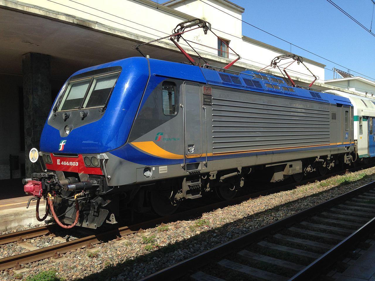 Vehicle - Rail - Locomotive - Electric - FS Class E.464