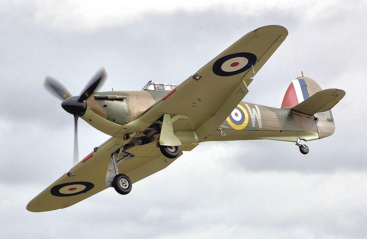 Aircraft - Propeller - Hawker - Hurricane