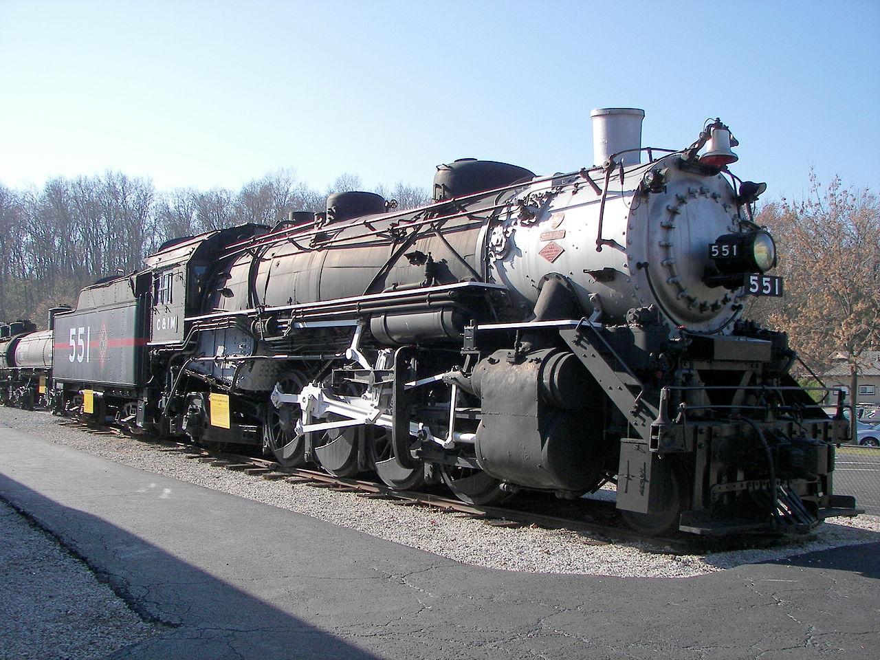 Vehicle - Rail - Locomotive - Steam - 2-8-2 Mikado