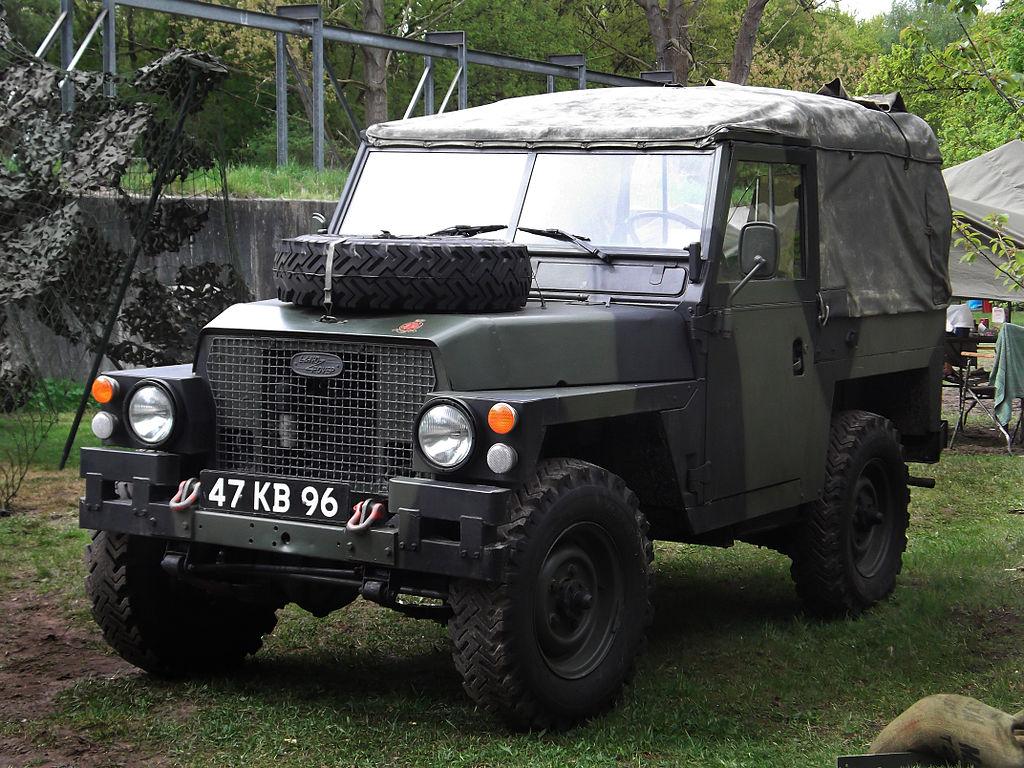 Vehicle - Vehicle - Automobile - Land Rover - 1/2 Ton