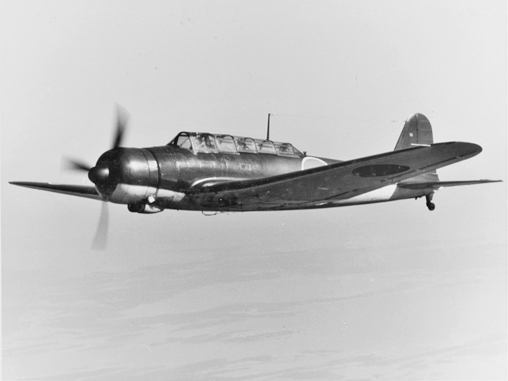 Aircraft - Propeller - Nakajima - B5N Kate