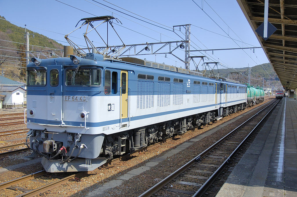 Vehicle - Rail - Freight Train - Electric - Japan