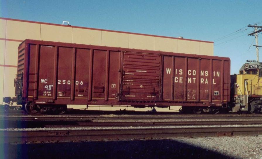 Vehicle - Rail - Rolling Stock (Freight) - Boxcar - PS 5344