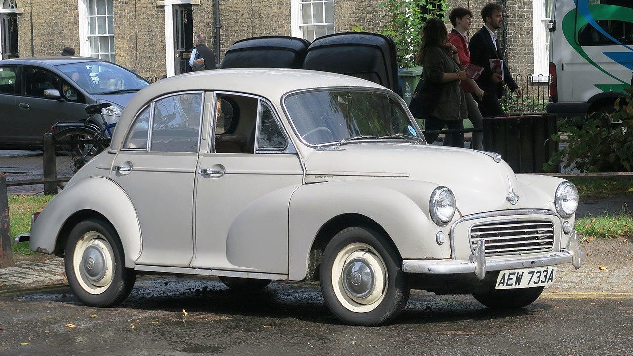 Vehicle - Vehicle - Automobile - Morris - Minor