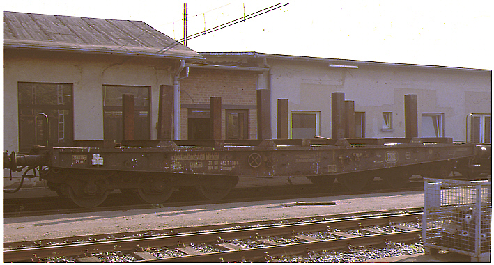 Rail - Rolling Stock (Freight) - Flatcar - 6-Axle SSym 46