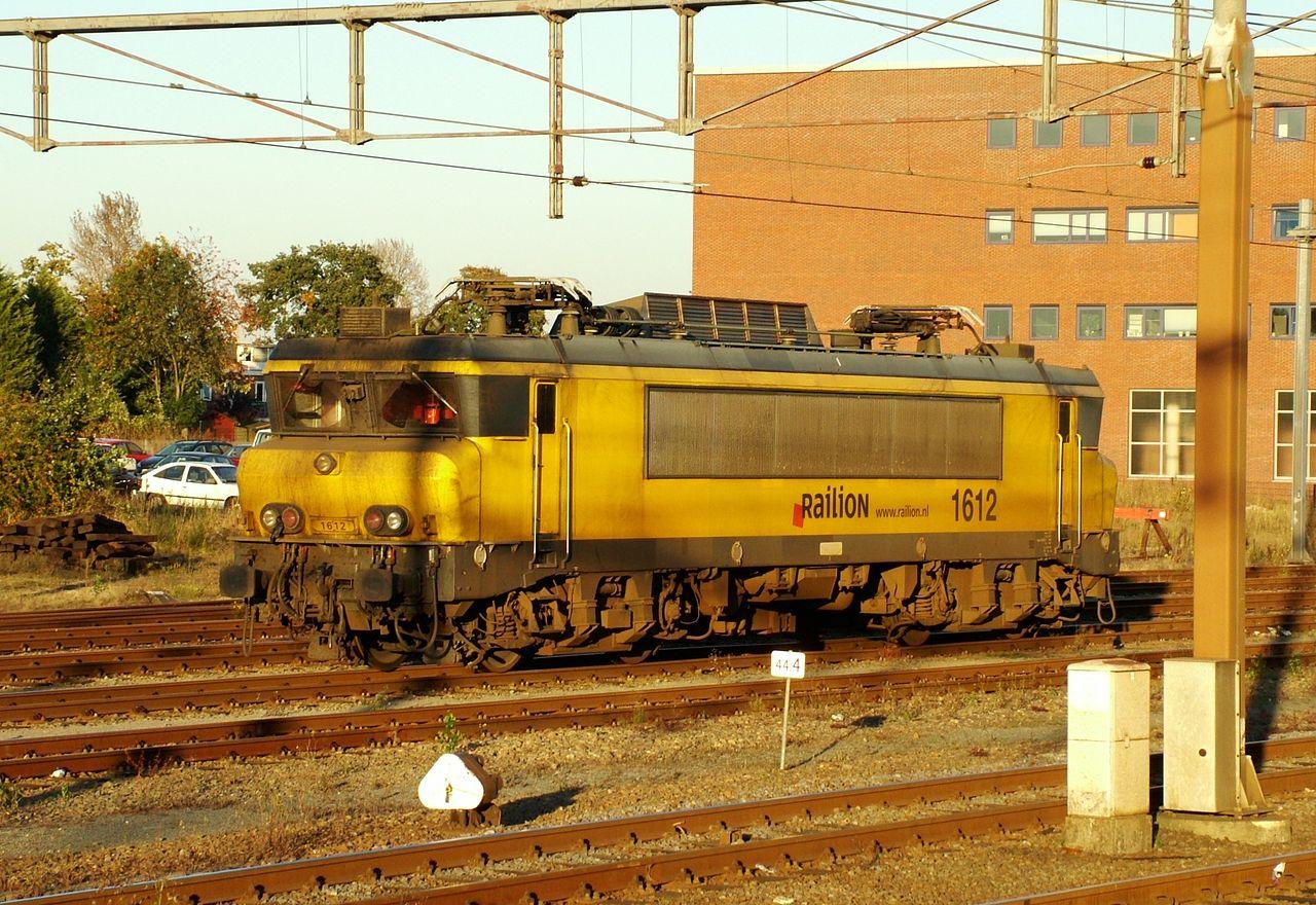 Rail - Locomotive - Electric - Alstom NS 1600