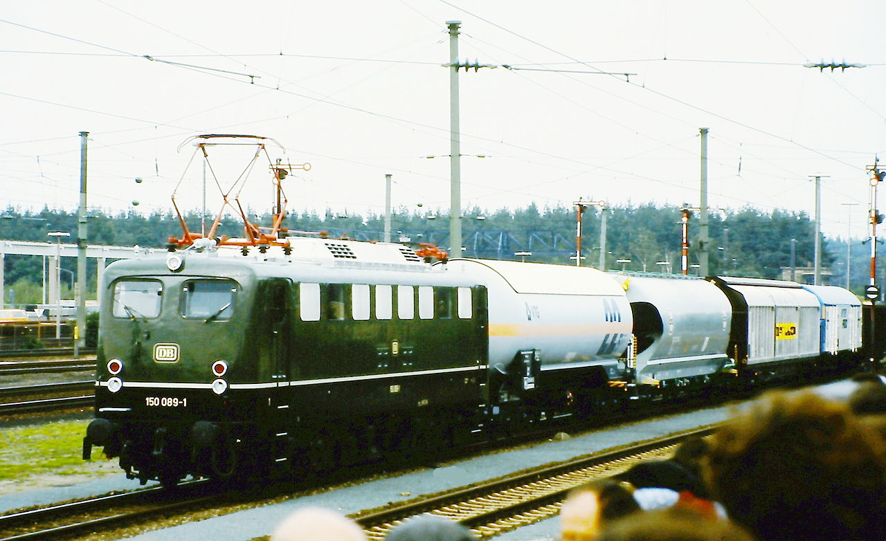 Vehicle - Rail - Locomotive - Electric - E50
