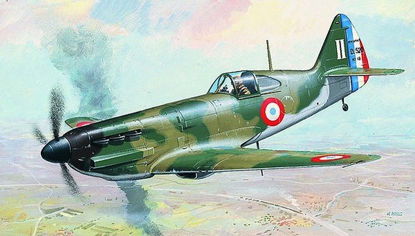 Vehicle - Aircraft - Propeller - Dewoitine - D.520