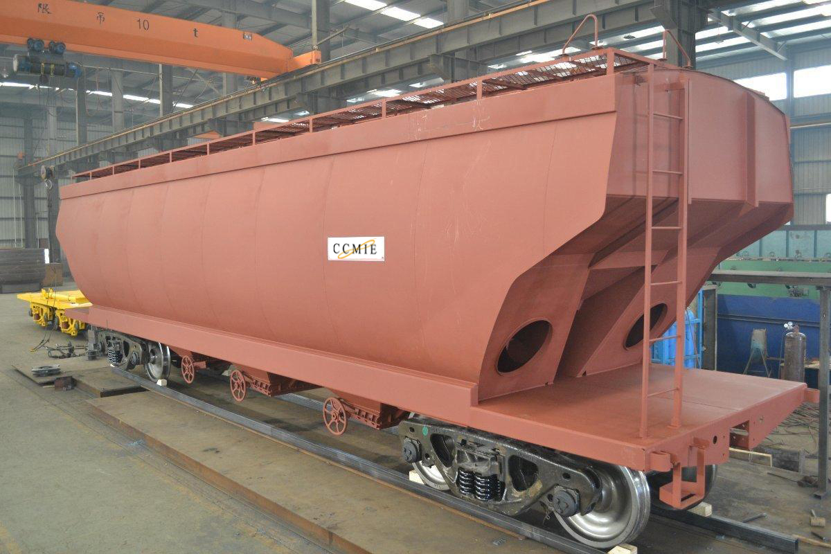 Vehicle - Rail - Rolling Stock (Freight) - Covered Hopper - 3-Bay