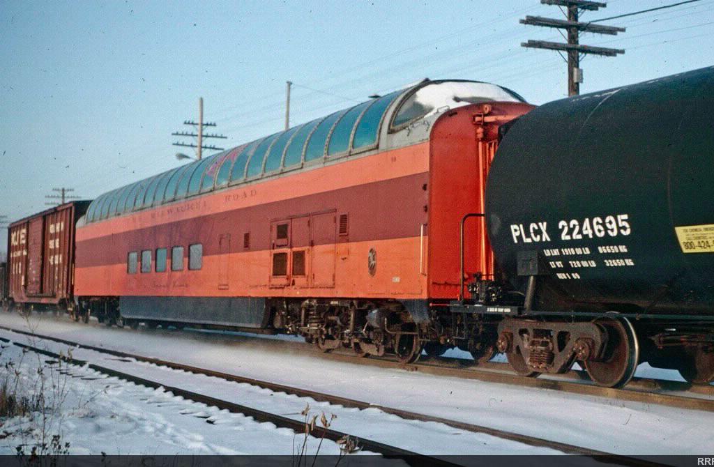 Vehicle - Rail - Passenger Car - Streamlined/Lightweight - Pullman, Superdome