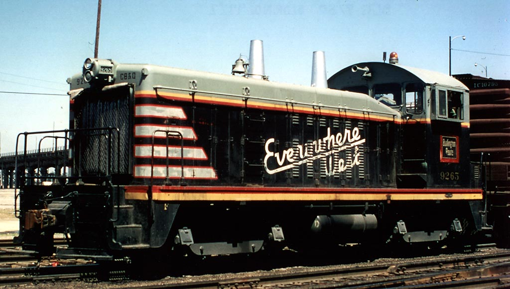 Rail - Locomotive - Diesel - EMD SW7