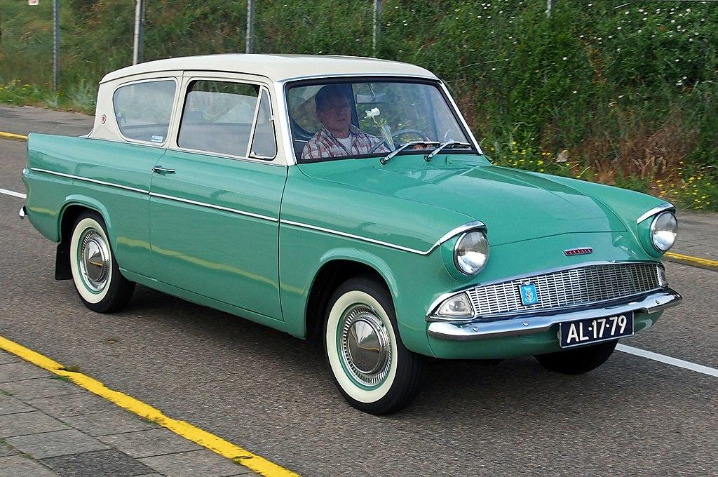 Vehicle - Vehicle - Automobile - Ford - Anglia