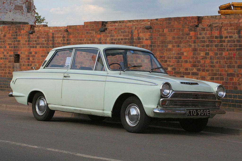 Vehicle - Vehicle - Automobile - Ford - Cortina